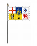Australia Royal Standard Hand Flag - Small.